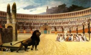 Posljednja molitva kršćanskih mučenika