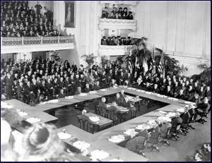 Potpisivanje mirovnog sporazuma u Versaillesu