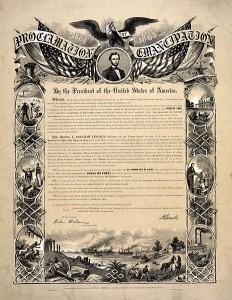 Proglas o oslobođenju robova