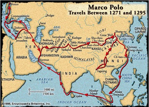 Marko Polo - putovanja