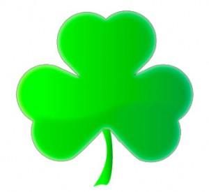 Djetelina s tri lista - simbol Irske