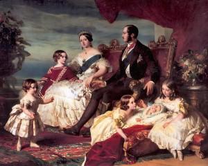 Kraljica Viktorija i princ Albert s djecom