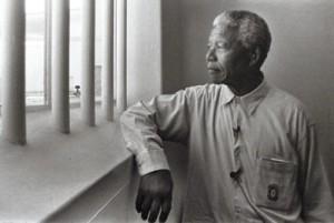 Nelson Mandela u zatvoru