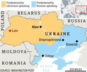 Podijeljena Ukrajina