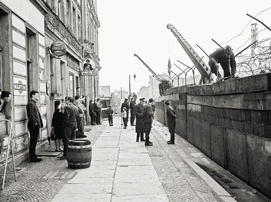 Mauerbau 1961 / Sebastianstraße
